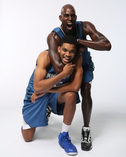Following his return to Minnesota, Garnett took on a mentoring role with budding superstar Karl-Anthony Towns