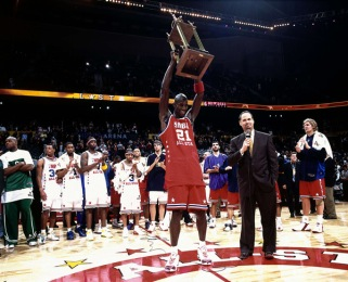 Winning the All-Star Game MVP in 2003