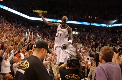 Leading the Timberwolves to the Western Conference Finals in 2003-04