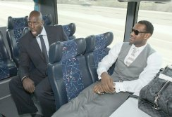 On the bus to an All-Star game with LeBron James